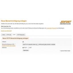 Sofortbanking, Benachrichtigungs-URL neue URL