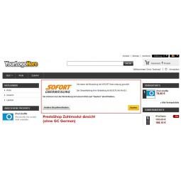 SOFORT Überweisung - PrestaShop original Bestellvorgang ohne GC German, ohne Button-Lösung