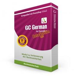 GC German für PrestaShop 1.5.6.2 (Beta-Version, bedingt 1.6.0.5)