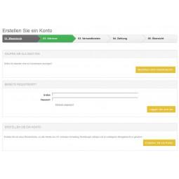 gc-bootstrap Anmeldung / Login