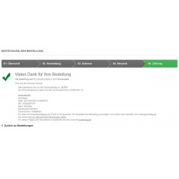 Vorkasse mit Vorkasserabatt, Zahlungsmodul für PrestaShop 1.5.x/1.6.x