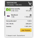 Block Warenkorb für GC German