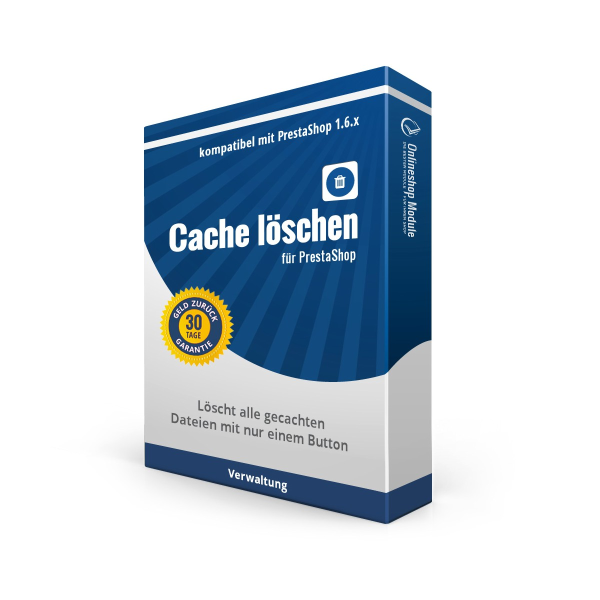 Modul Cache löschen für PrestaShop 1.6