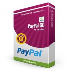 PayPal für GC German PS1.5