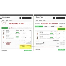 Presta Plus für PrestaShop / verbesserter Warenkorb