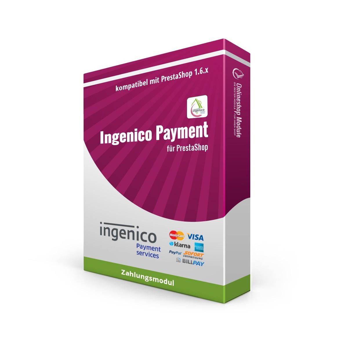Ingenico Kreditkarte, Zahlungsmodul