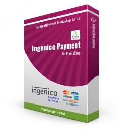 Ingenico Kreditkarte, Zahlungsmodul PS1.6.1.x
