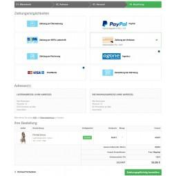 Presta Plus für PrestaShop: Rabatte und Zahlaufschläge / Bestellseite