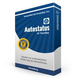 Autostatus für PrestaShop, Modul zur automatischen Änderung des Bestellstatus