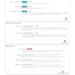 Grundpreis, Gutschriften-E-Mail, Newsletter Double Optin Mail, Vorlagen für Zahlaufschläge/Rabatte, E-Mail persönliche Anrede