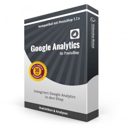 Google Analytics für PrestaShop 1.7 Produktbox