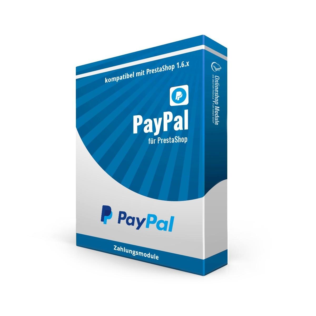 PayPal für PrestaShop 1.6