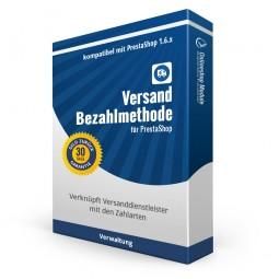 Versand-Bezahlmethode PrestaShop 1.6.x