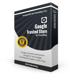 Google Trusted Store für PrestaShop 1.6