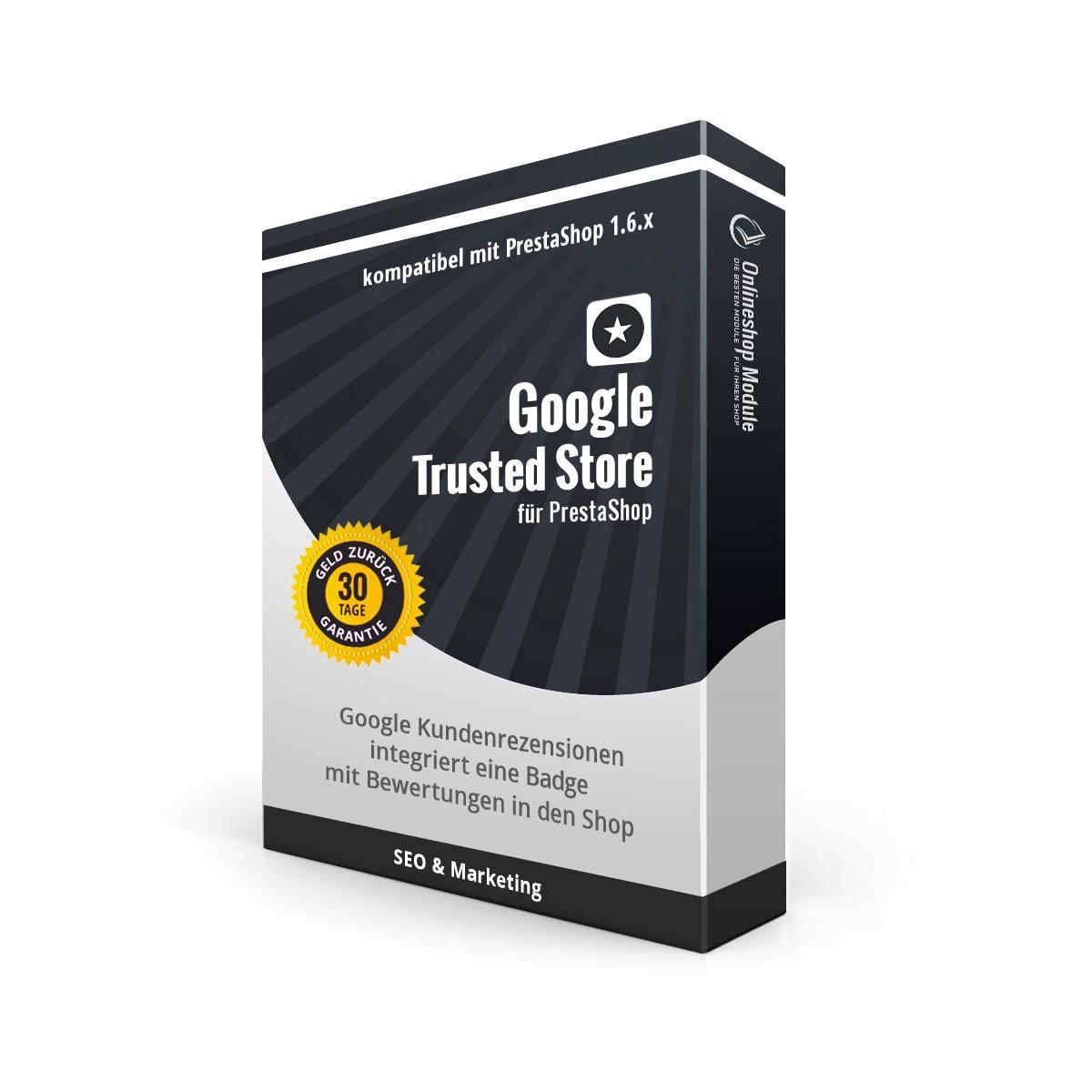 Google Trusted Store für PrestaShop 1.6