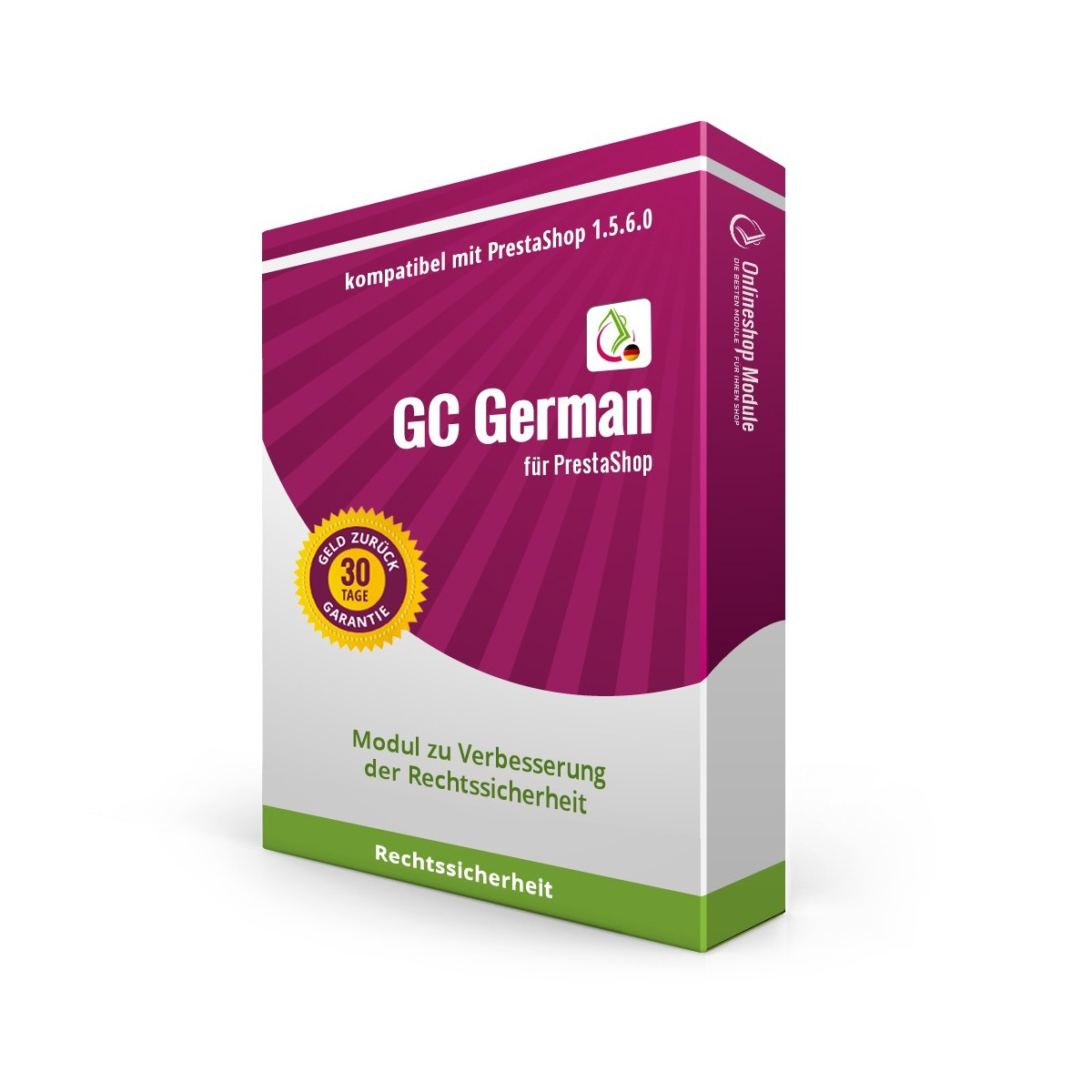 GC German für PrestaShop 1.5.6.0