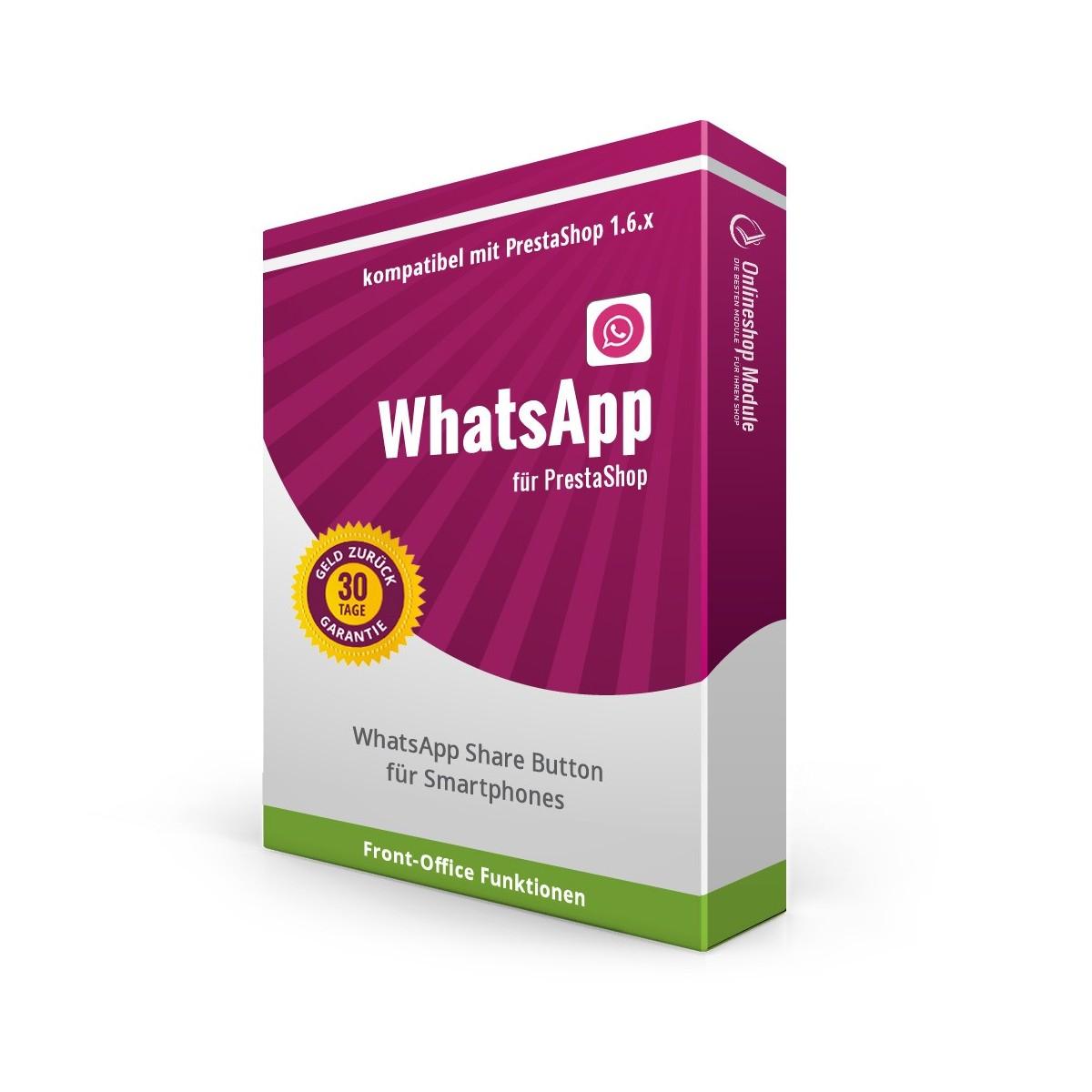 Whatsapp Share Button für PrestaShop 1.6