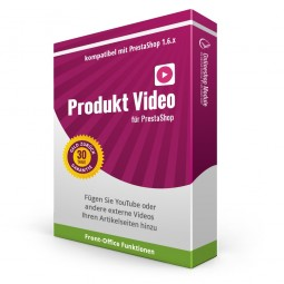 Produkt Video für PrestaShop 1.6, Video Übersicht im Back Office Controller
