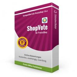 ShopVote Bewertungen Modul PrestaShop 1.6
