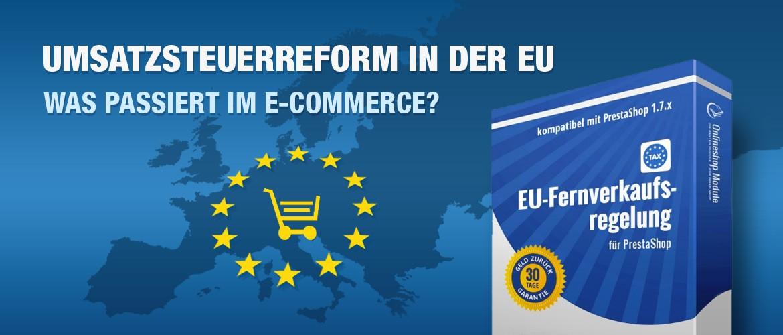 Modulbanner EU-Umsatzsteuerreform 2021 - PrestaShop 1.7