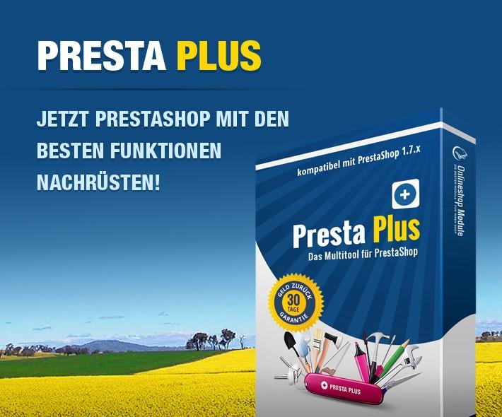 Presta Plus - Das Multi-Tool für Ihren PrestaShop